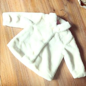 Old navy Faux Fur Toddler Jacket